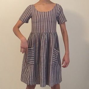 Urban renewal baby doll dress